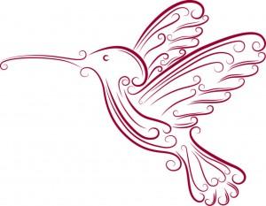 HummingbirdWOheart