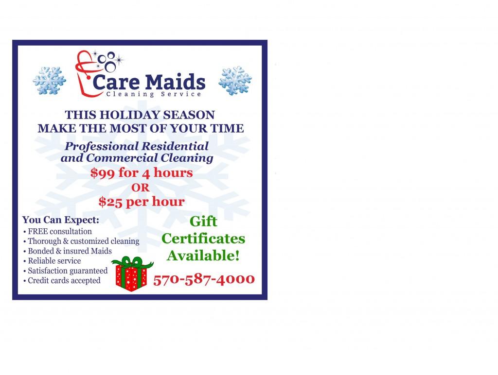 CareMaids Dec Ad 2016